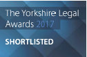 Shortlisted for The Yorkshire Legal Awards 2017