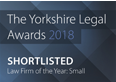 Shortlisted for The Yorkshire Legal Awards 2018